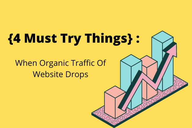 {4 Must Try } : When Organic Traffic Of Website Drops In 2021